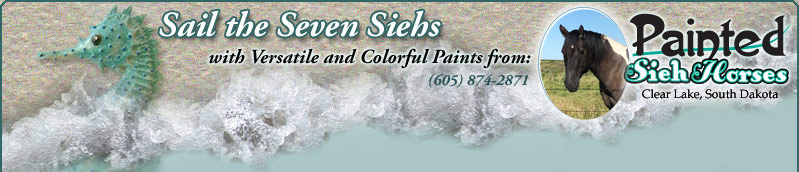 Painted Sieh Horses: Colorful Loud Paint Horses located in Clear Lake South Dakota